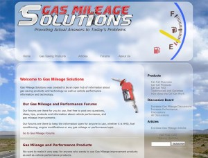 New Gas Mileage Tips Website Goes Online