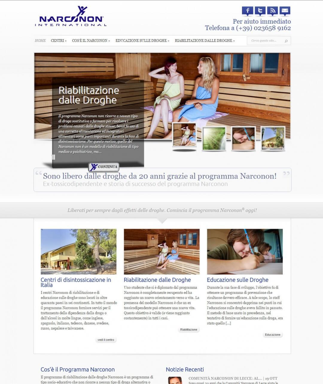 Drug Rehabilitation Website